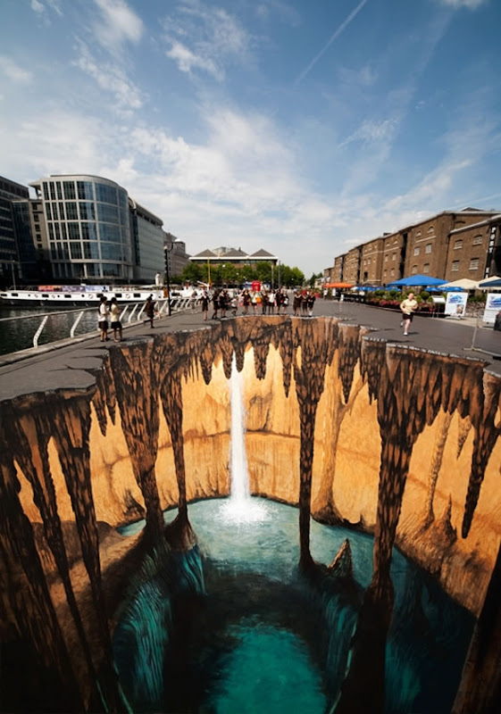 Cave Illusion in the Middle of London