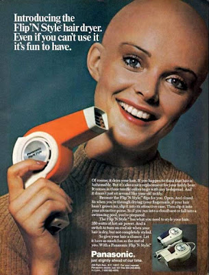 A Hair dryer ad from 'Teen Mag, December 1972.