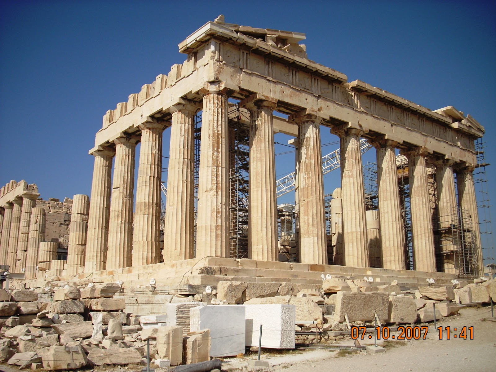 Greek Architecture Parthenon metron ariston: parthenon
