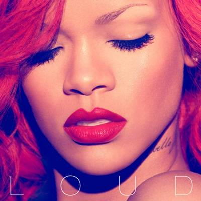 rihanna album art loud