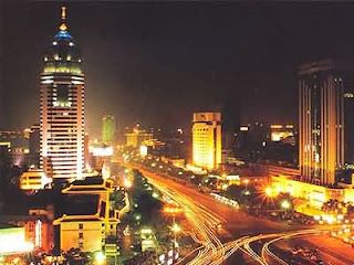 taiyuan at night