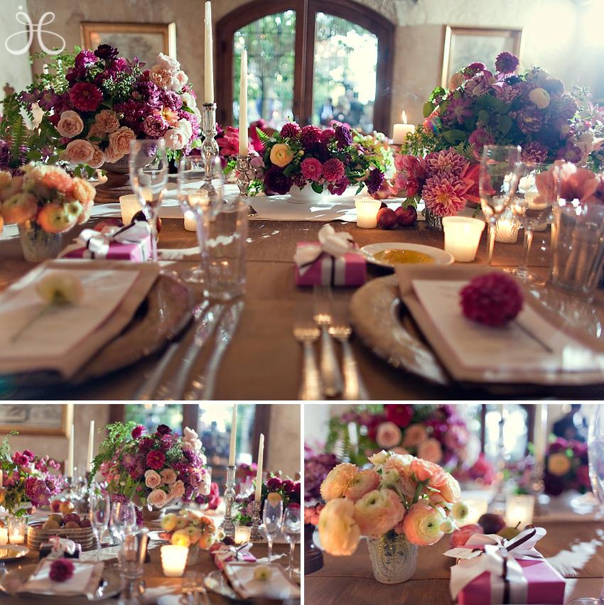 Casamento colorido peguei o bouquet for Wedding themes for september