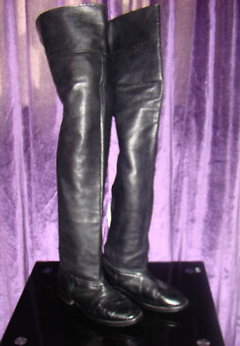 ebay leather modified pair crotch boots sell for 412