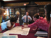 Umana Teachers Visit the Mass. Historical Society