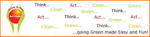 Think Green Act Clean