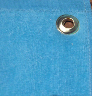 how to put a grommet in a towel