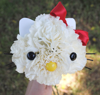 online flowers: hello kitty flower bouquet