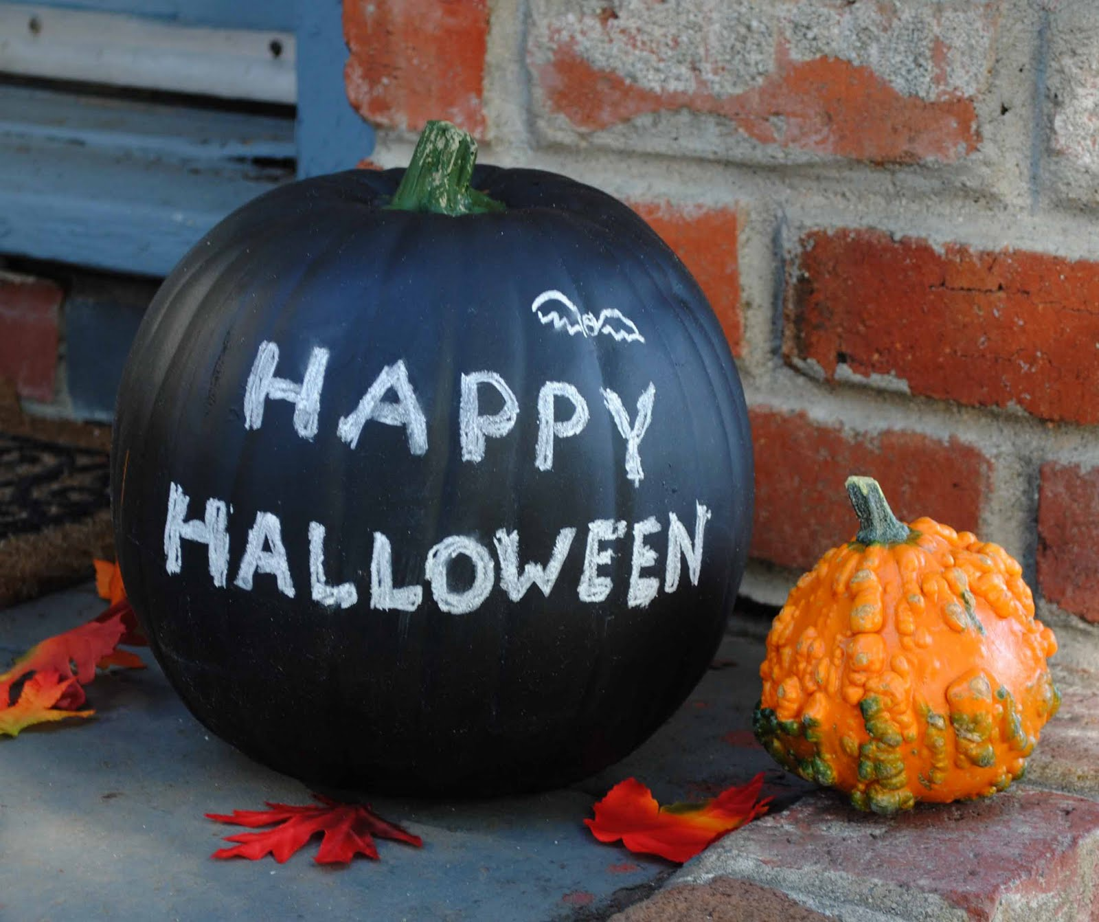 Zakka Life Halloween Craft Chalkboard Pumpkins