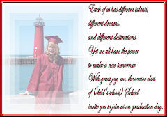Graduation Invite Sample