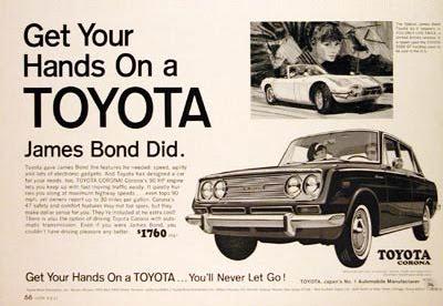 Toyota James Bond Ad