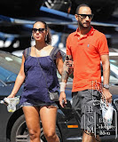 SWIZZ BEATZ &amp; ALICIA KEYS OUT &amp; ABOUT