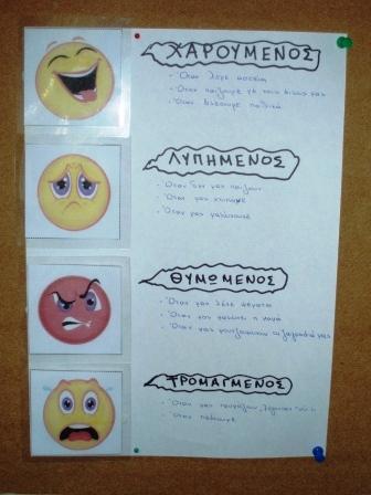 Ετικέτες αγωγή υγείας συναισθήματα