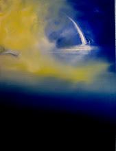 Solitary Blue Soul I