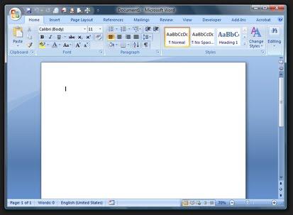 create a letterhead in word 2010