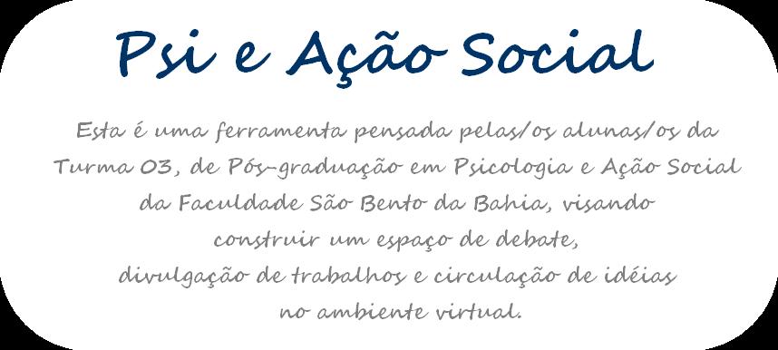 Psi & Ação Social