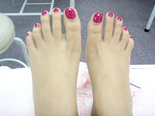perfect nail work pedicure