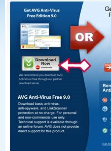 avg free latest 9.0 version toolbar