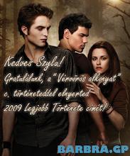 """""""2009 Legjobb Története"""" Díj"""