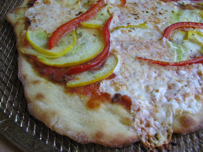 plain thin crust pizza