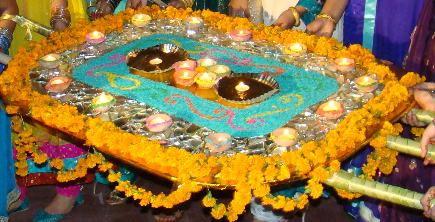 Mehndi Thaal Decoration Ideas I : Colours and joy project mehndi thaal