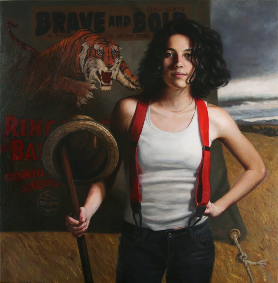 "Terry Strickland Art: ""Voice Of The Tiger"", Oil Painting"
