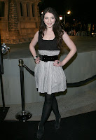 Michelle Trachtenberg in Black Nylons