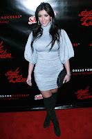 Kim Kardashian in Boots