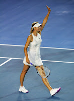 Maria Sharapova Making The Australian Open Final