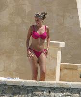 Claire Sweeney Bikini Candids