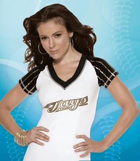 Alyssa Milano Promotes Her New Clothing Line