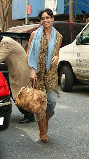 Rosario Dawson Candids