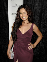 Tia Carrere Flashes Some Thigh