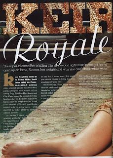 Keira Knightley Cleo Photoshoot