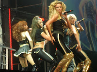 Girls Aloud Performing on Stage