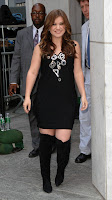 Kelly Clarkson in Thigh Boots