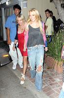 Lindsay Lohan Shopping Candids