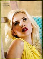 Scarlett Johansson Elle Photoshoot