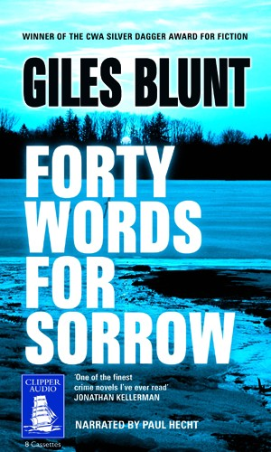 forty words for sorrow essay Iles blunt's forty words for sorrow takes place during a dreary february on the chippewa reserve in northern ontario, canada blunt's bone-chilling.