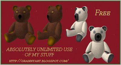 TeddyBear in png free by Helga Stolzenwald RCC-+TeddyBear-tumb
