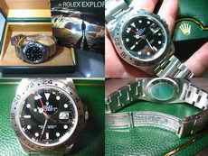 HOT ITEM FOR SALE : ROLEX EXPLORER II (SOLD)