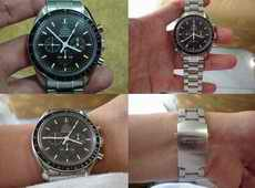 HOT ITEM FOR SALE - OMEGA CHRONOGRAPH RACING - CARBON DIAL (SOLD)