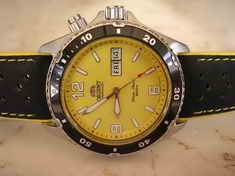 ORIENT DIVER - YELLOW MAKO