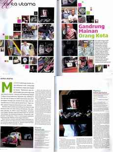 Koleksijammaximus on U Magazine October 2009