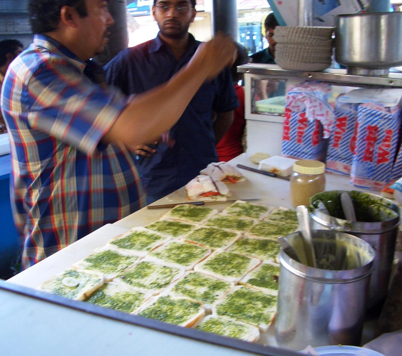 Bav's Kitchen: The Bombay Sandwich