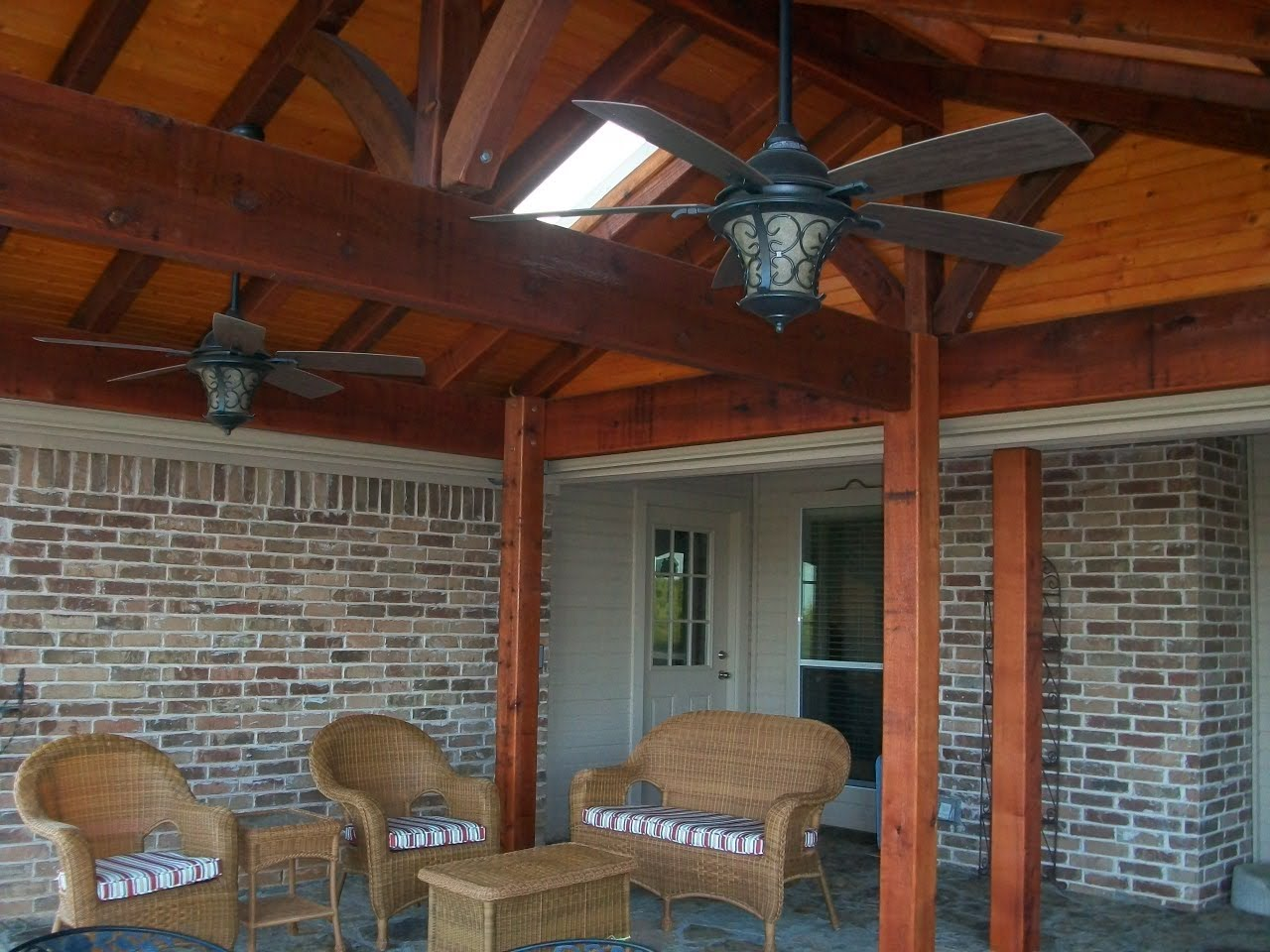 We Decided To Add A Covered Patio And A Hot Tub With A Pergola. We Could  Have Kept Going, But Ran Out Of Money. We Plan To Extend The Patio And Add  ...