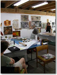 Fran Skiles,       COLLAGE/PRINTING/PAINTING Workshop