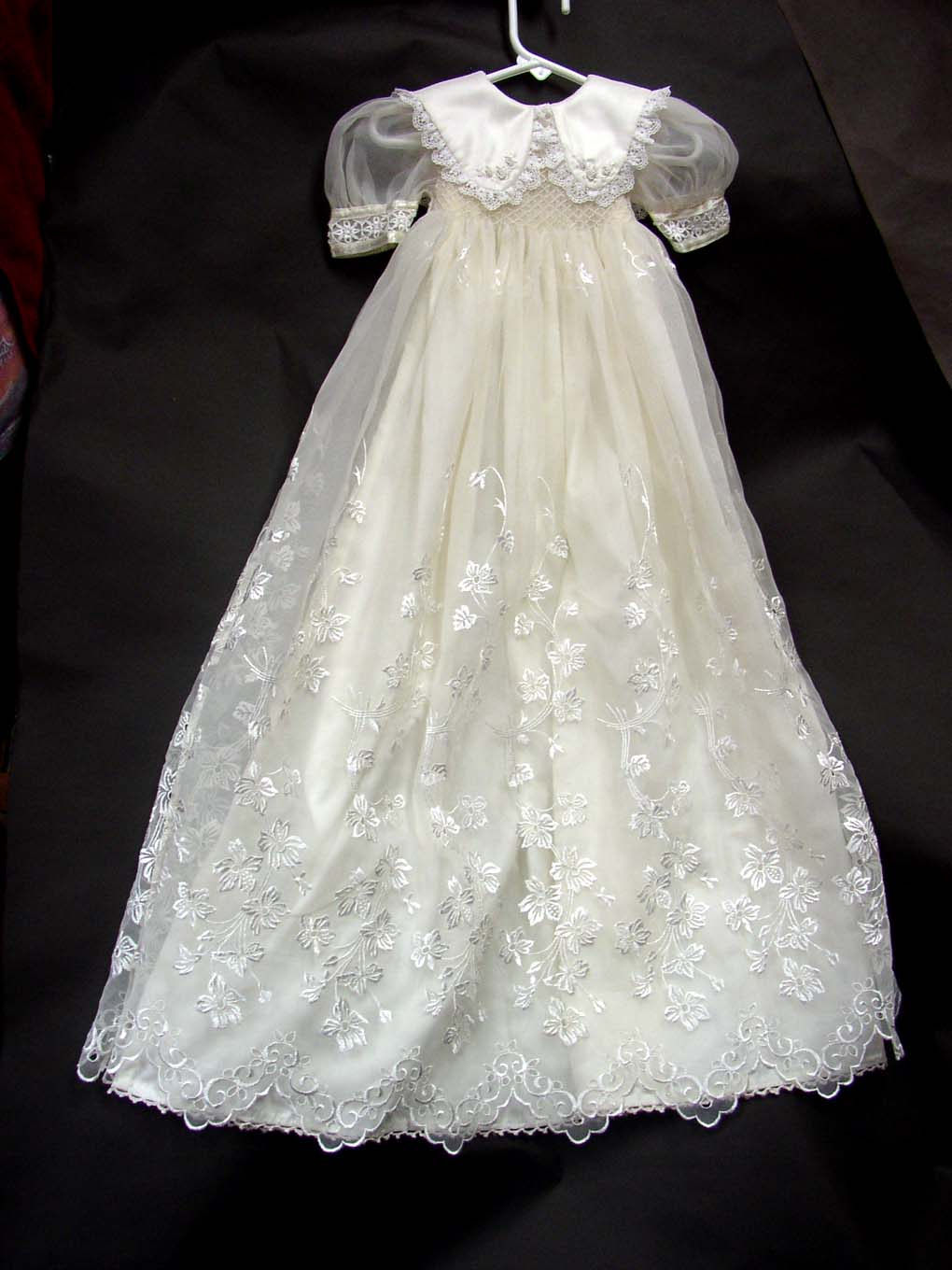 From Wedding Dress To Blessing Gown