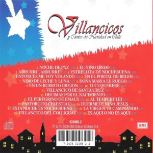 CD Villancicos y cantos de navidad de Chile B
