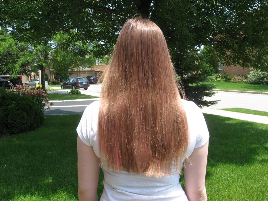My Bumpy Middle Aged Long Hair Journey My Daughters Hair And
