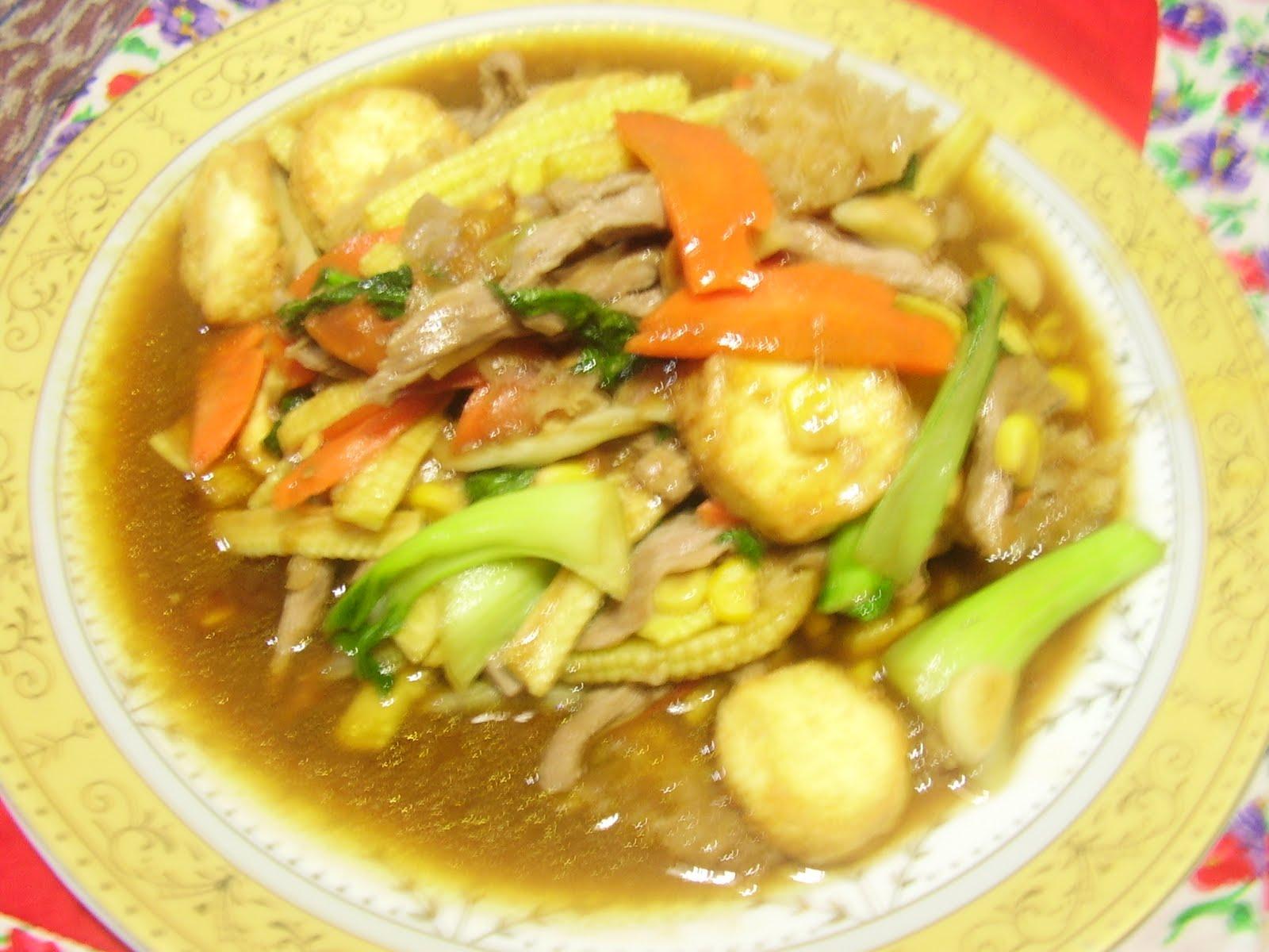 Resep Masakan Keluarga Susono: SAPO TAHU DAGING